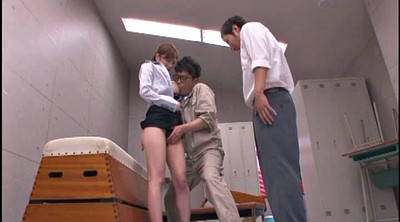 Japanese mature, Japanese threesome, Double penetration mature, Double blowjob