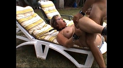 Outdoors bondage, Whip