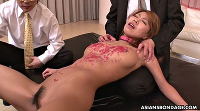 Japanese office, Japanese bondage, Wax, Japanese orgasm, Waxing, Asian bdsm