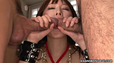 Squirt, Asian bdsm, Asian squirt, Asian threesome, Tied, Peeing asian