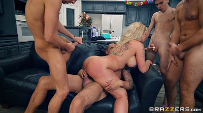 Ryan conner, Sons friend, Son friend, Milf group, Blonde gangbang