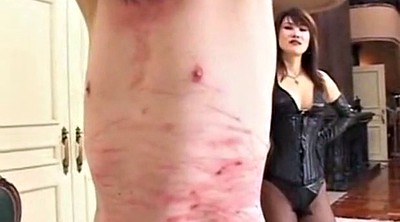 Whipped, Asian femdom, Mistress whipping
