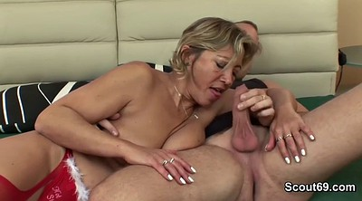 Touch, Old and young, Bbw mom, Mom boy, Mom old, Mom n boy