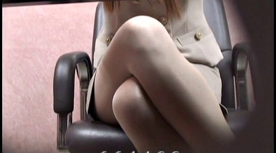 Office, Voyeur, Japanese office, Japanese cosplay, Japanese foot, Peep
