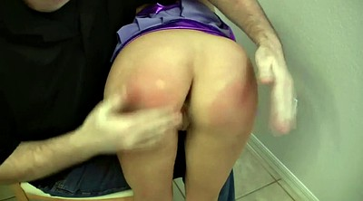 Spanked, Wife big ass