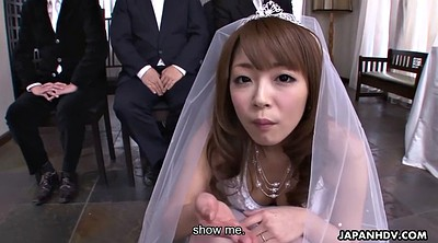 Bride, Wedding, Japanese wedding, Bride wedding, Blowjob swallow, Asian white