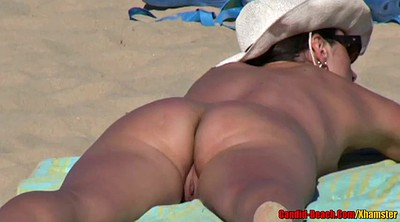 Voyeur couple, Hidden couples, Mature beach