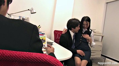 Japanese office, Japanese blowjob