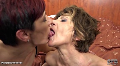 Granny gay, Swallowing, Mature swallow, Ebony granny