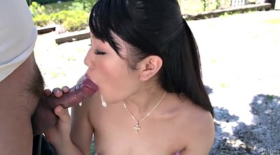 Park, Outdoor blowjob, Asian guy, Outdoor asian