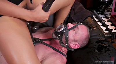 Squirting, Mistress, Riding dildo, mistress t, Squirts, Face dildo
