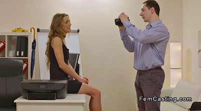 Female agent, Casting amateur, Female pov