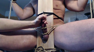 Edging, Chair, Gay bdsm, Edging handjob, Bdsm milk