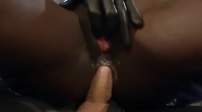 Black girl, Anal girl, Leather fetish, Latex anal, Anal black