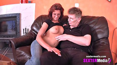 Amateur mature, German granny