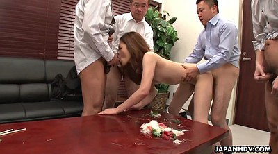 Japanese office, Japanese group, Yui, Japanese creampie, Asian gangbang, Office gangbang