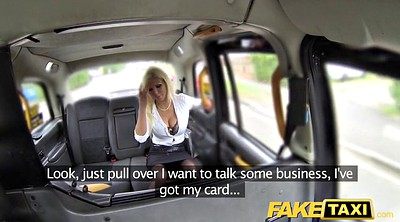 Fake, Taxi, Fake agent, Taxi creampie