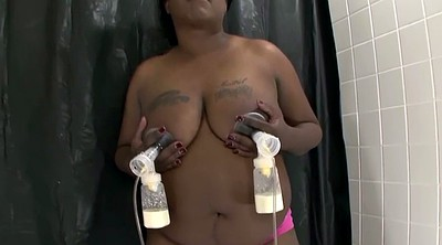 Nipples, Pump, Big tit, Pumping, Dry