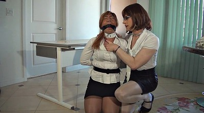 Crossdress, Crossdresser bondage, Sandra