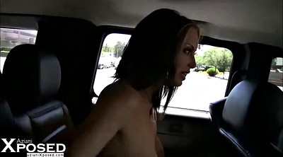 Clit, Public show, Car masturbation