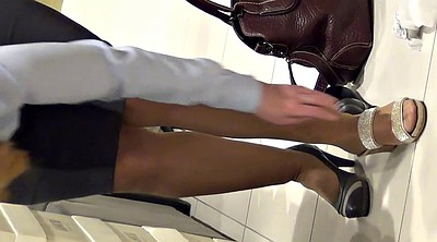 Leg, Shop, Shopping, Mature pantyhose