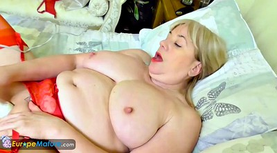 Granny solo, Chubby solo, Chubby blonde, Mature chubby, Granny masturbation, Blonde granny