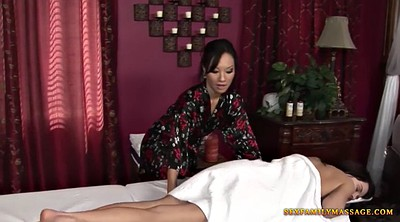 Massage lesbian, Undressing, Undressed