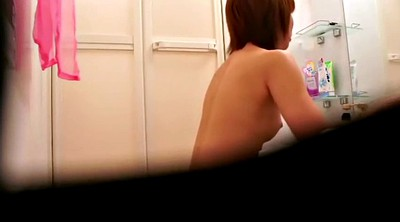 Voyeur, Shower, Spy cam, Hidden cam shower, Asian solo, Spying