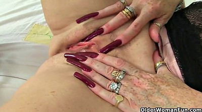 Out, Grannies, Mature nylon, Sexy milf