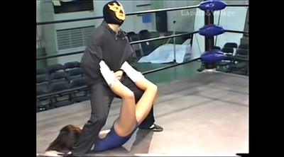 Japanese bdsm, Wrestling
