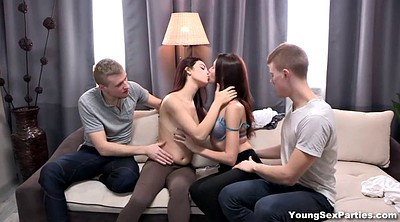 Group sex orgy, Close, Couple swapping