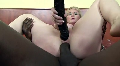 Granny anal, Cock