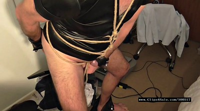 Cbt, Bound, Rope, Male, Gagged