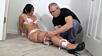Tied, Tie, Crystal, Tied tits, Submissions, Handyman