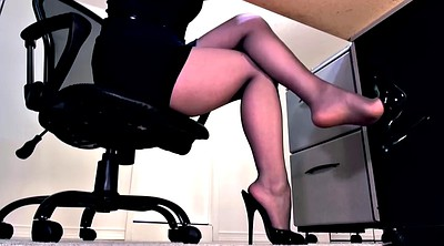 Pantyhose footjob, Footing, Pantyhose feet, Heels, High