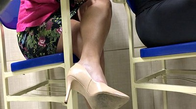High-heeled, Candid, High heels fetish