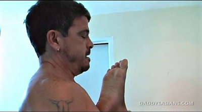 Daddy, Father, Old asian, Old gay, Piercing asian, Gay father