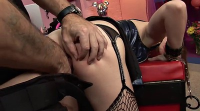 Foot, Latex anal, Doggystyle anal