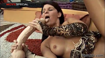 Dildo orgasm, Long dildo