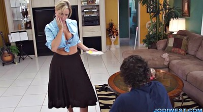 Hot mom, Jodi west, Jody west, Mom handjob