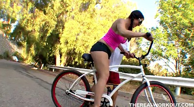 Hot, Bike, Pigtails teens