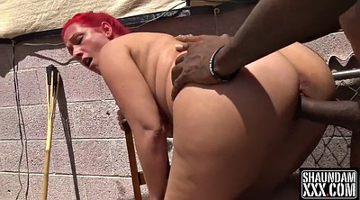 Red head, Bbw and bbc