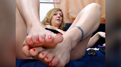 Sounding, Mature feet, Milf foot, Ass play
