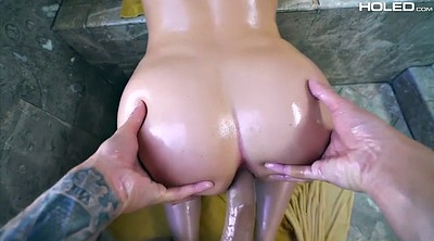 Chubby anal, Gaping, Harley, Cowgirl anal, Young chubby, Young ass