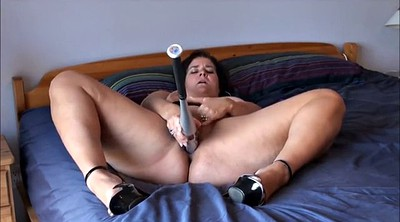 Sport, Home, Bbw masturbating, Running, Mom homemade