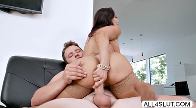 Ava addams, Huge tits, Addams, Huge cum, Cum in face