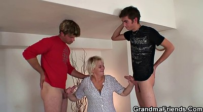 Wife threesome, Old woman, Big woman