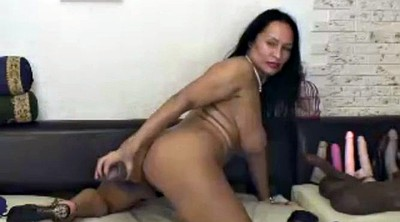 Milf riding dildo, Dildo ride