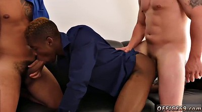 Interracial gangbang, African gay