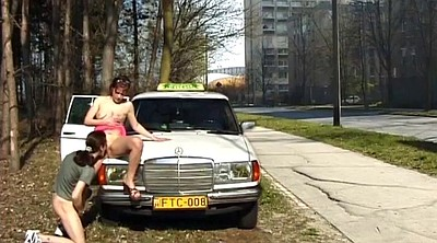 Public sex, Street, German amateur